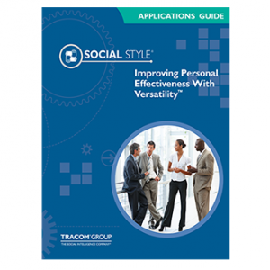 Improving Personal Effectiveness with Versatility Applications Guide